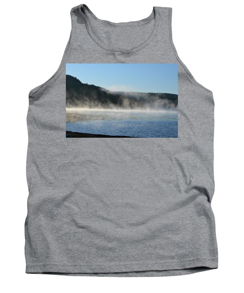 Tank Top featuring the photograph Maine Morning by James Petersen
