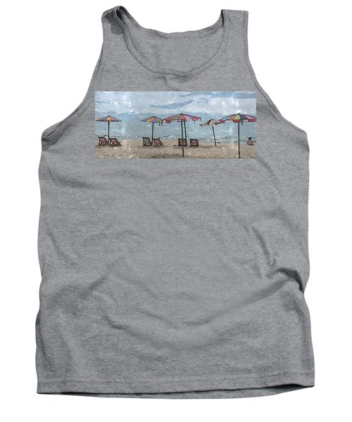 Malazy Day At The Beach Tank Top