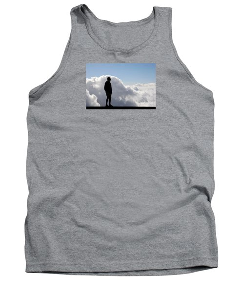 Man In The Clouds Tank Top