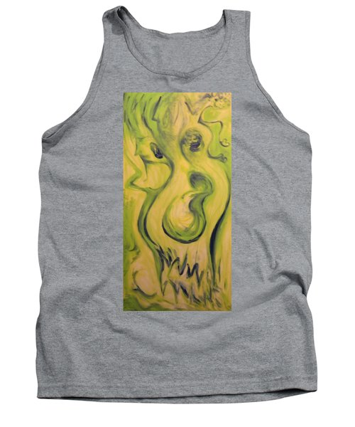 Many Faces Tank Top