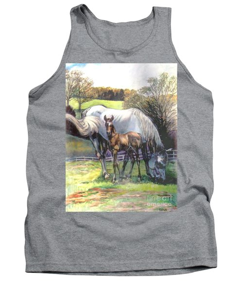 Mare And Foal Tank Top