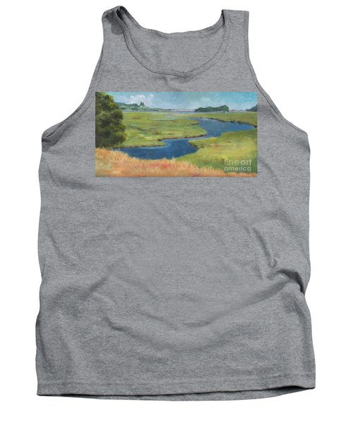 Marshes At High Tide Tank Top