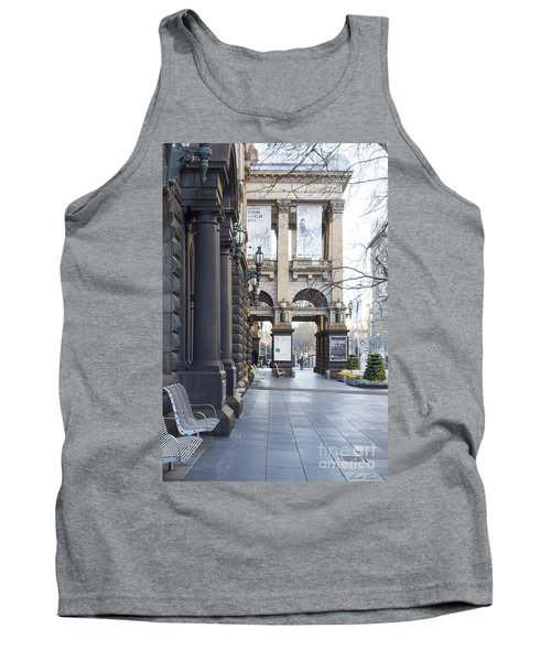 Marvellous Melbourne 3 Tank Top by Linda Lees