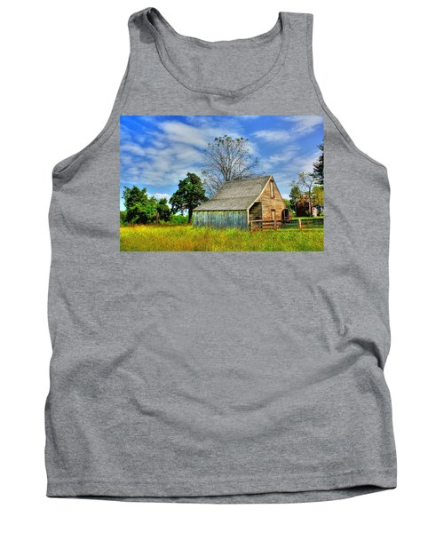 Mclean House Barn 1 Tank Top by Dan Stone