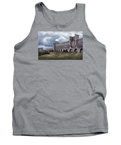 Medieval City Wall Defence Tank Top