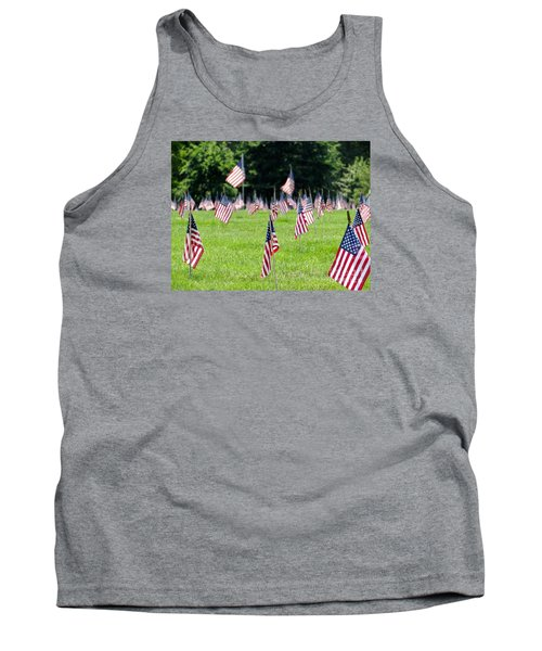 Tank Top featuring the photograph Memorial Day by Ed Weidman