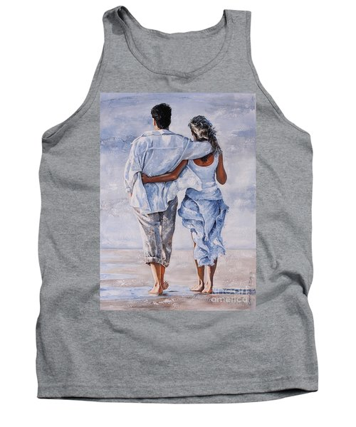 Memories Of Love Tank Top by Emerico Imre Toth