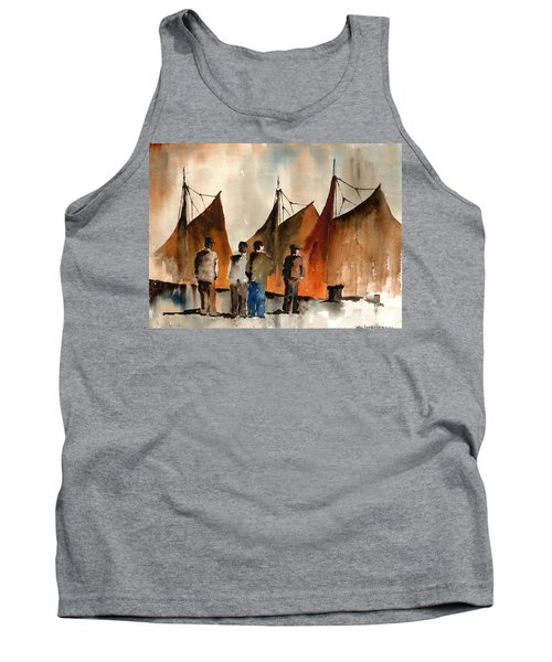 Men Looking At Hookers  Galway Tank Top