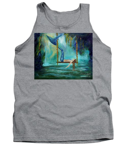 Mermaids Lazy Lagoon Tank Top