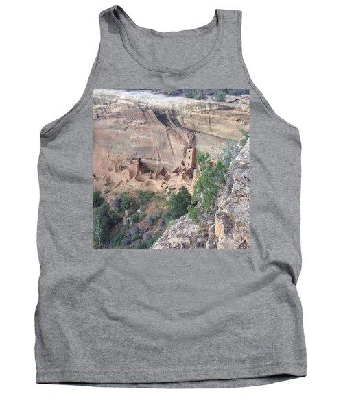 Mesa Verde Colorado Cliff Dwellings 1 Tank Top