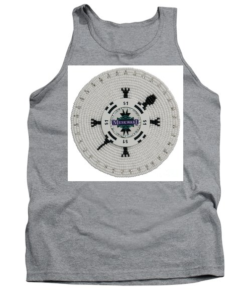 Meskwaki White Tank Top