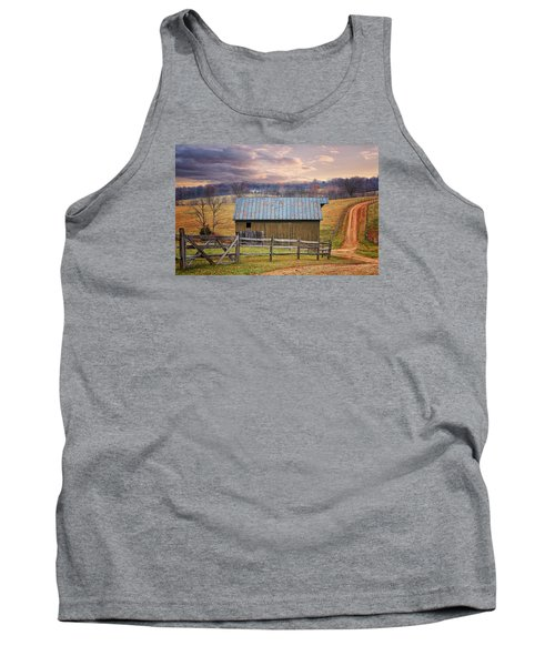 Middleburg Virginia Countryside Tank Top