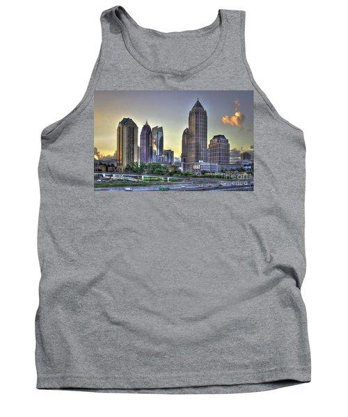 Midtown Atlanta Sunrise Tank Top by Reid Callaway