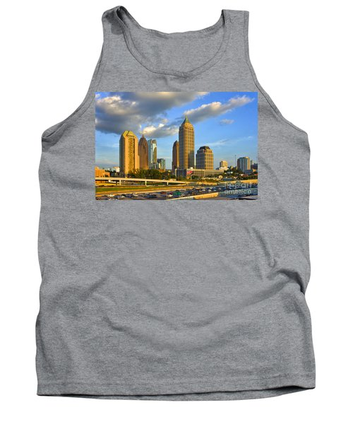 Midtown Sunset And Falcon Traffic  Tank Top
