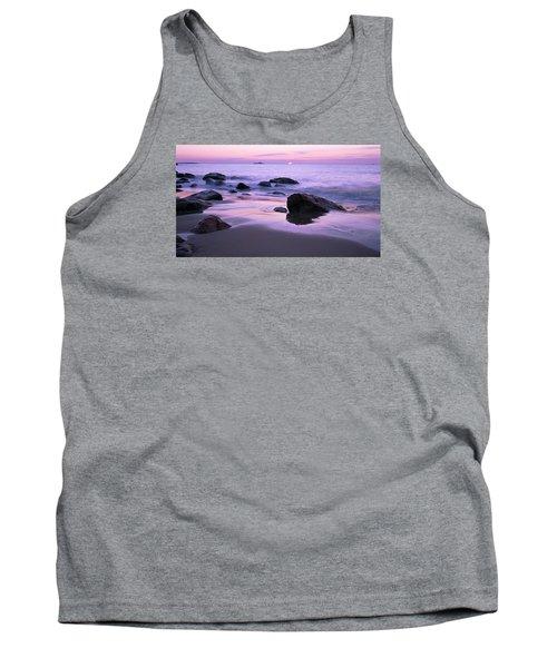 Millennium Sunrise Singing Beach Tank Top by Michael Hubley