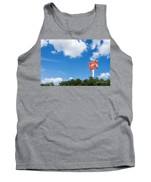 Miller Brewery Sign Tank Top