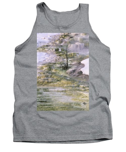 Minerva Springs Terraces Yellowstone National Park Tank Top