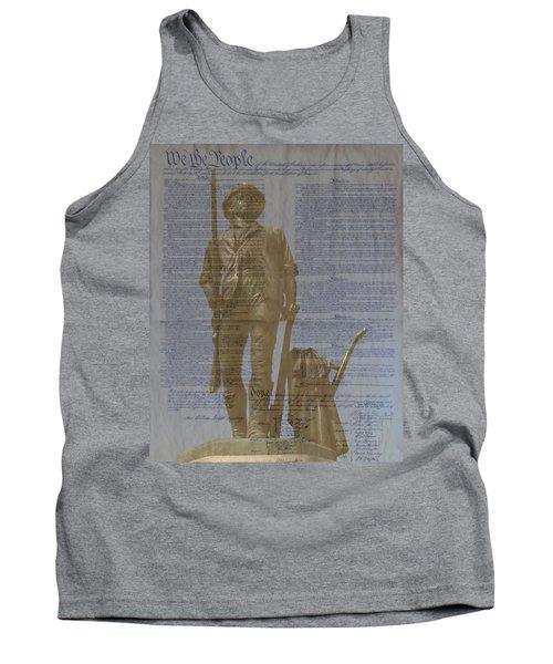 Minuteman Constitution Tank Top