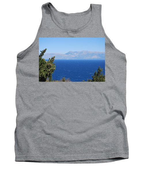 Tank Top featuring the photograph Mistral Wind by George Katechis