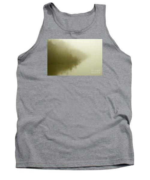 Misty Morning Reflection. Tank Top