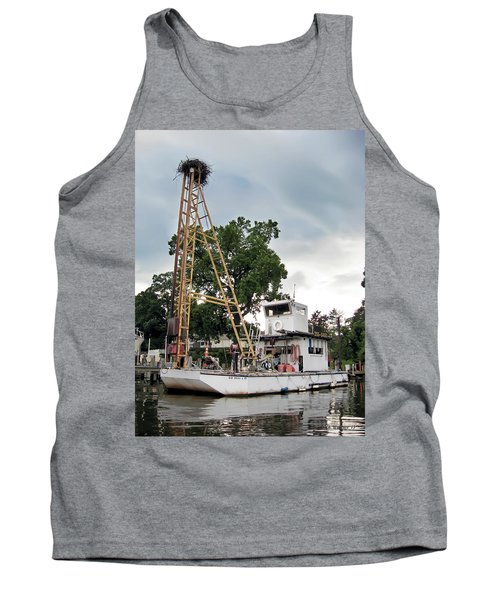 Tank Top featuring the photograph Mobile Osprey Nest by Brian Wallace