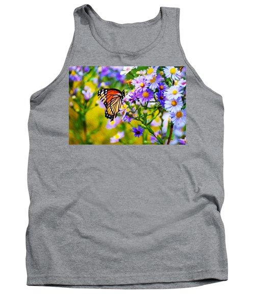 Monarch Butterfly 4 Tank Top