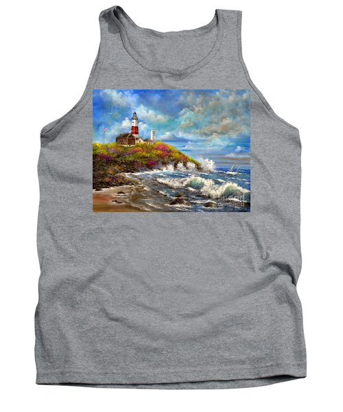 Montauk Lighthouse Tank Top