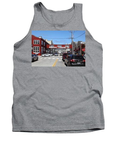 Monterey Cannery Row California 5d25027 Tank Top