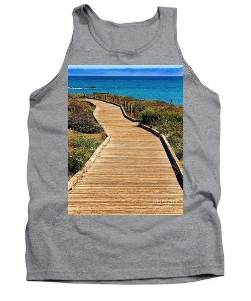 Moonstone Beach Park By Diana Sainz Tank Top