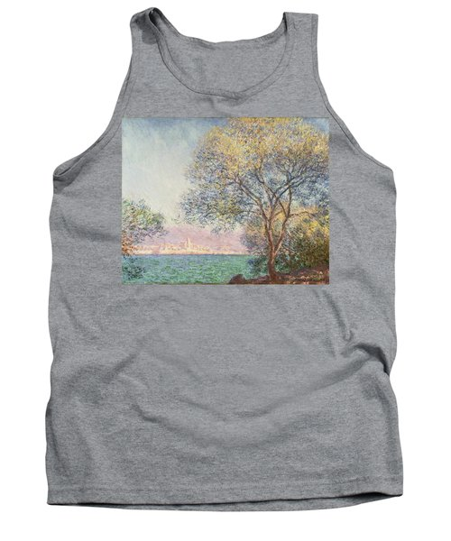 Morning At Antibes Tank Top by Claude Monet