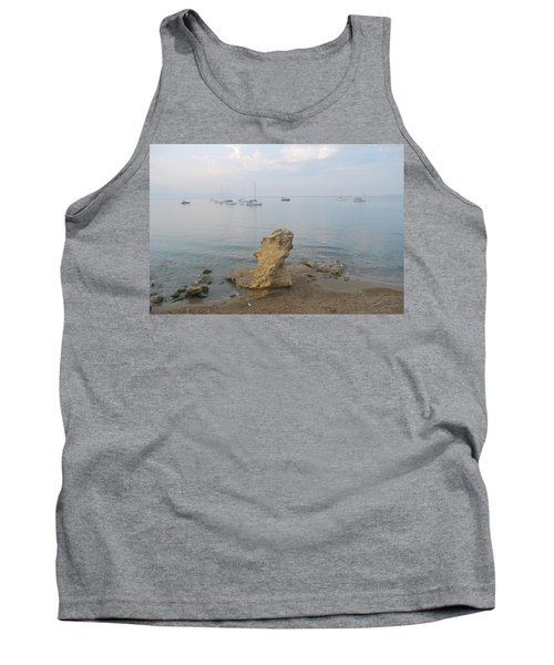 Tank Top featuring the photograph Morning Mist 2 by George Katechis