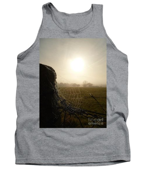 Tank Top featuring the photograph Morning Mist by Vicki Spindler