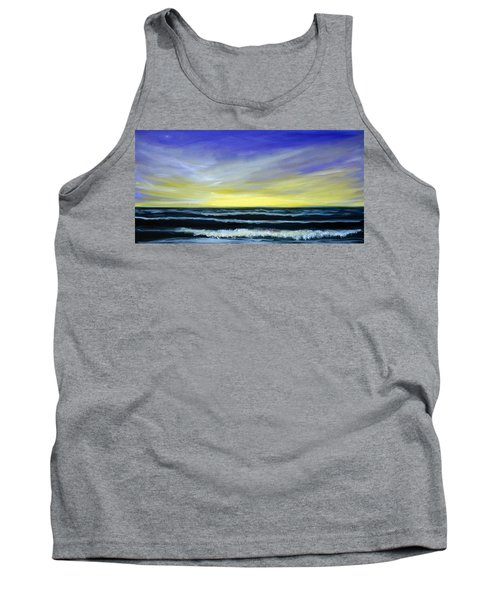 Morning Star And The Sea Oceanscape Tank Top