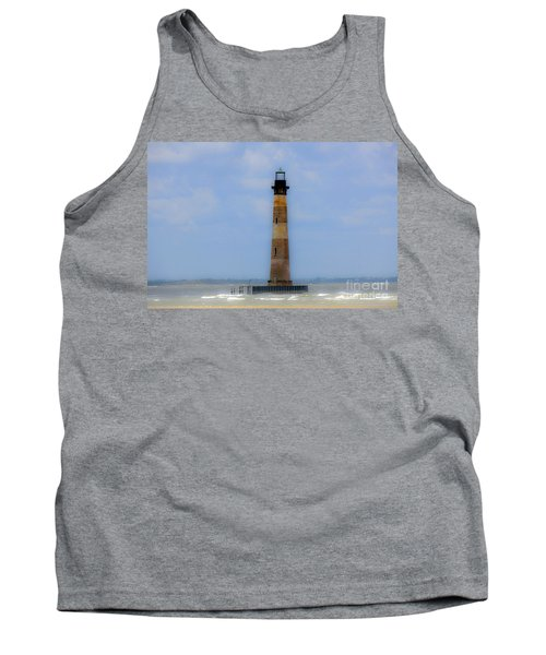 Tank Top featuring the photograph Sand Sea And Whimsey by Dale Powell