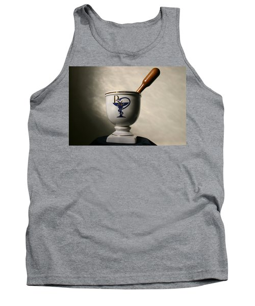 Mortar And Pestle Two Tank Top by Kristin Elmquist