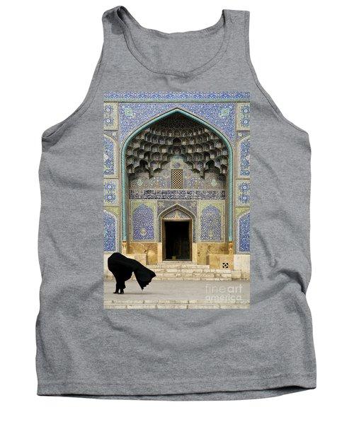Mosque Door In Isfahan Esfahan Iran Tank Top