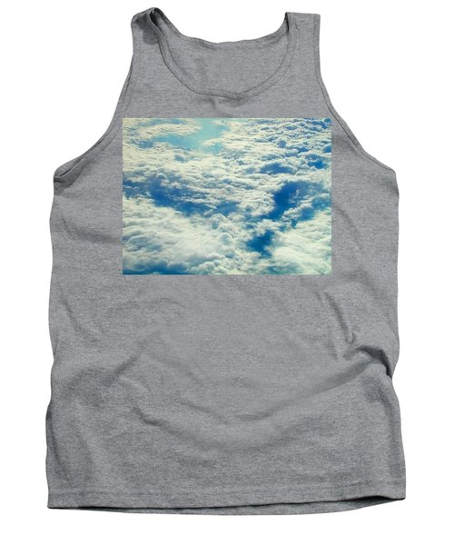 Tank Top featuring the photograph Mostly Cloudy by Mark Greenberg