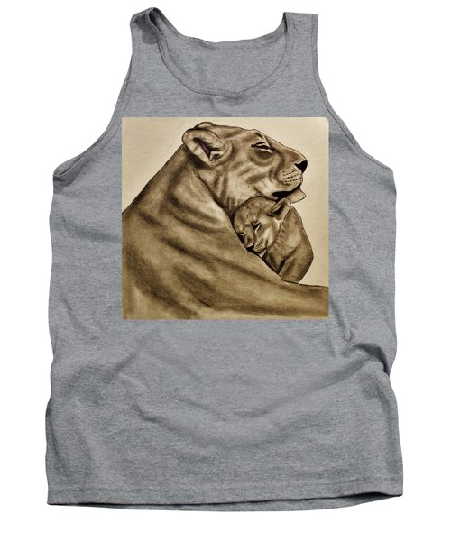 Mother And Son Tank Top by Michael Cross