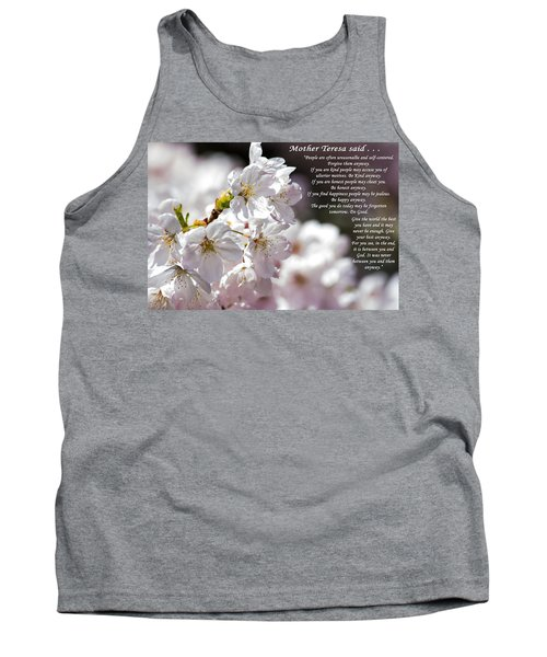 Mother Teresa Said Tank Top