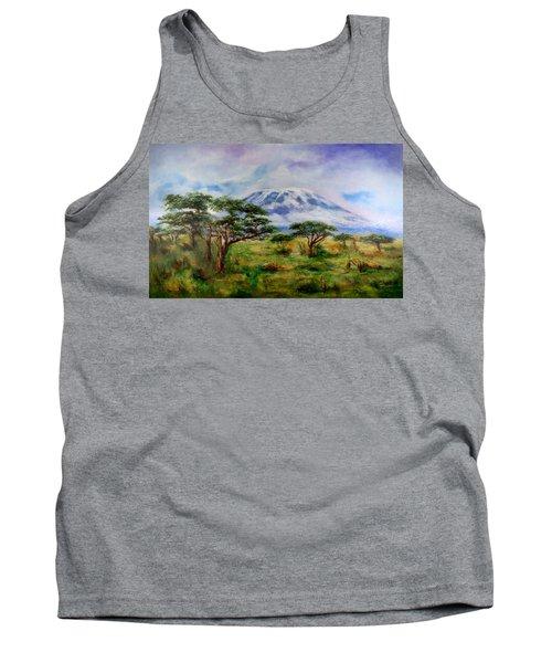 Mount Kilimanjaro Tanzania Tank Top
