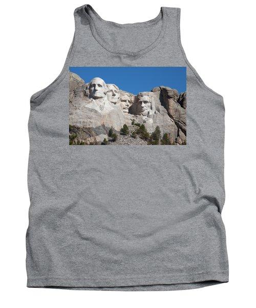 Mount Rushmore Tank Top