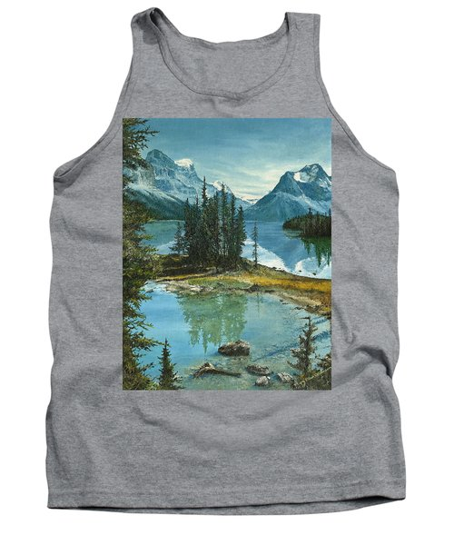 Mountain Island Sanctuary Tank Top