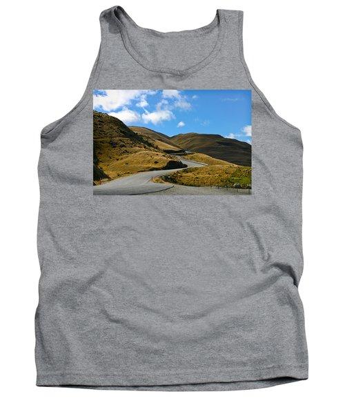Mountain Pass Road Tank Top