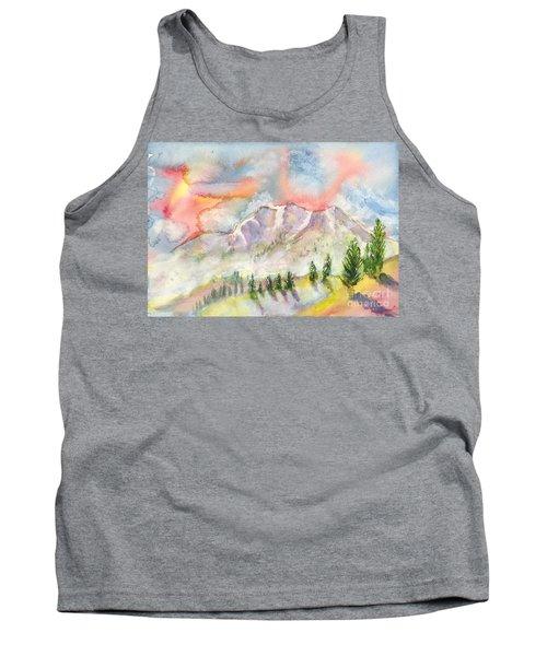 Mountain Sunset Tank Top