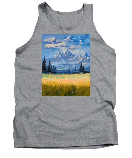 Mountain Valley Tank Top by Richard Faulkner