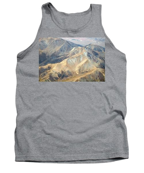 Tank Top featuring the photograph Mountain View 2 by Mark Greenberg