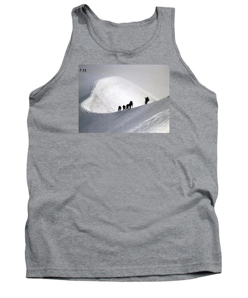Mountaineers To Conquer Mont Blanc Tank Top