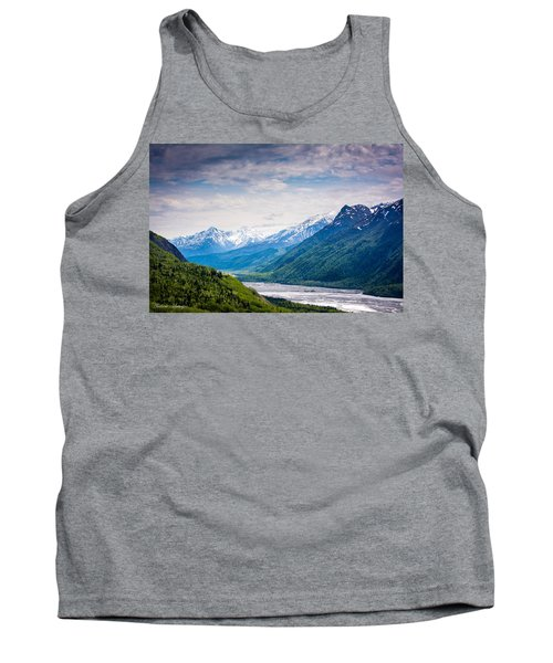 Mountains Along Seward Highway Tank Top