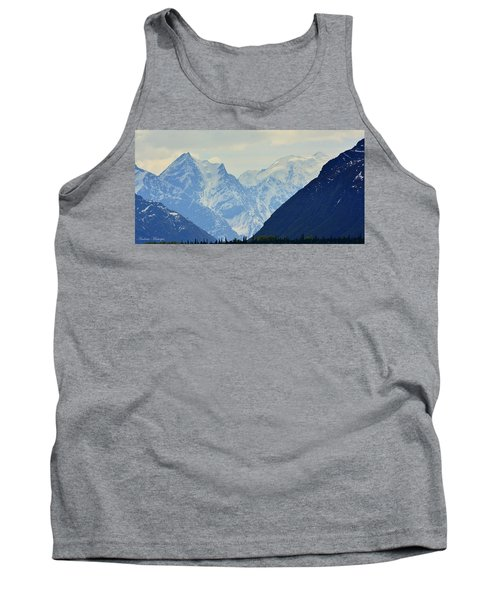 Mountains Near Matanuska Glacier Tank Top