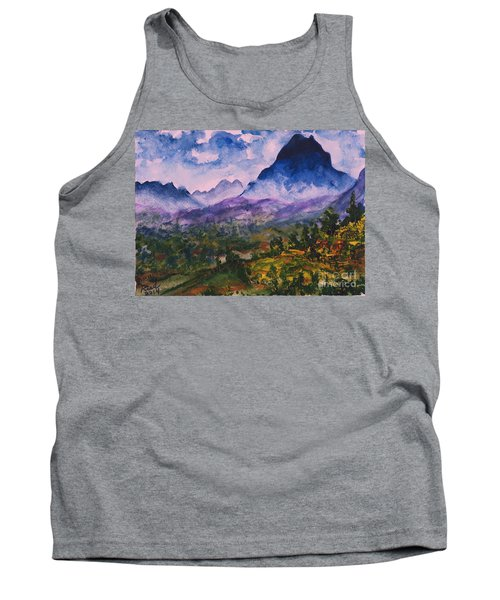 Mountains Of Pyrenees  Tank Top
